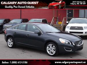 2013 Volvo S60 T5 AWD / LEATHER / SUNROOF