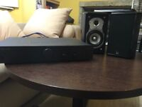 Roth speakers and Cambridge audio amplifier