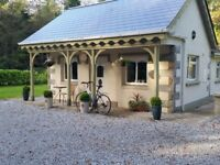 5 Star Fairytale Gate Lodge (3 bedrooms) at Blessingbourne Country Estate