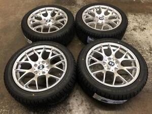 "17"" VMR Hyper Silver Wheels 5x120 and Winter Tire Package 225/45R17 (BMW Cars) Calgary Alberta Preview"