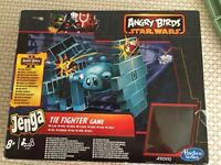 Angry Birds Star Wars Jenga Tie fighter game