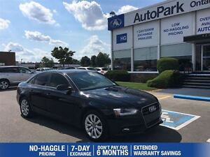 2013 Audi A4 2.0T Quattro 6 Speed Manual!| Sunroof| Heated leat