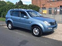 SSANGYONG REXTON RX270 S - 1 YEAR MOT - 2.7 MERC ENGINE - 5 SPEED MANUAL - TOWBAR