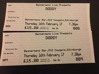 2 x Dodgy gig tickets
