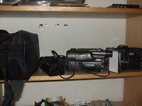 2 video cameras