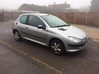 Pegeut 206 1.3 Litre with Low Mileage Good Runner