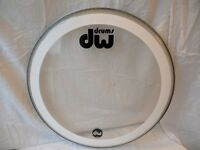 "22"" DW COLLECTORS BASS DRUM SKIN (£15)"