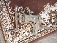 pair of floor clamps