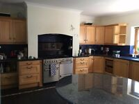 Complete Kitchen High Quality Wooden Units & Granite Worktops - Now Sold