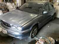 X type jaguar wanted scrap mot failure damaged