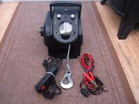 1 TON 12v ELECTRIC WINCH-REMOTE WITH FIXING PLATE