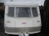 elddis knights bridge 1998 small light 2 berth caravan in vgc