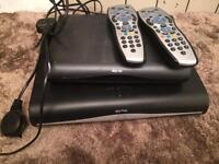 Sky+ had box and mini box with two remotes