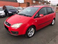 Ford Focus C-Max 1.8 TD Zetec 5dr 2006 3 OWNERS, MARCH 18 MOT, SERVICE HISTORY, HEATED LEATHER £695