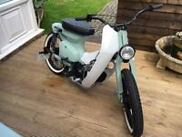 Honda c50 custom cub c90 engine