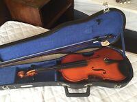 vintage Skylark violin in case