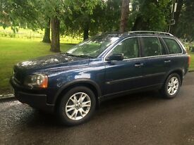 Volvo XC90 d5 awd **full mot** lovley 4x4 **7 seater **
