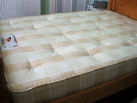 Double mattress + mattress cover for sale