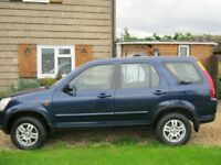 HONDA CR-V 4x4 FOR SPARE OR REPAIRS