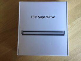 APPLE MACBOOK AIR SUPERDRIVE SUPER DRIVE EXTERNAL USB DVD Boxed New