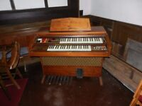 F20 GEM Electric Organ. Working order. No documentation. Purchaser to collect.