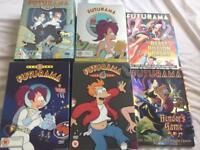 Futurama season 1,2,3,4 and specials dvd