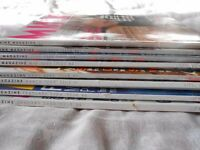 Collection of MINX Magazines 8 copies, Jan 2000 (issue 39) up to & including Aug 2000 (issue 46)