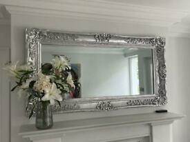 Large Silver Guild Mirror