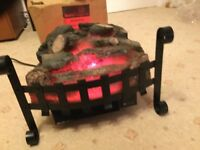 Warwick Inset electric log effect fire/heater