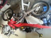 08 crf 450r trade for skidoo rs or iqr or ?