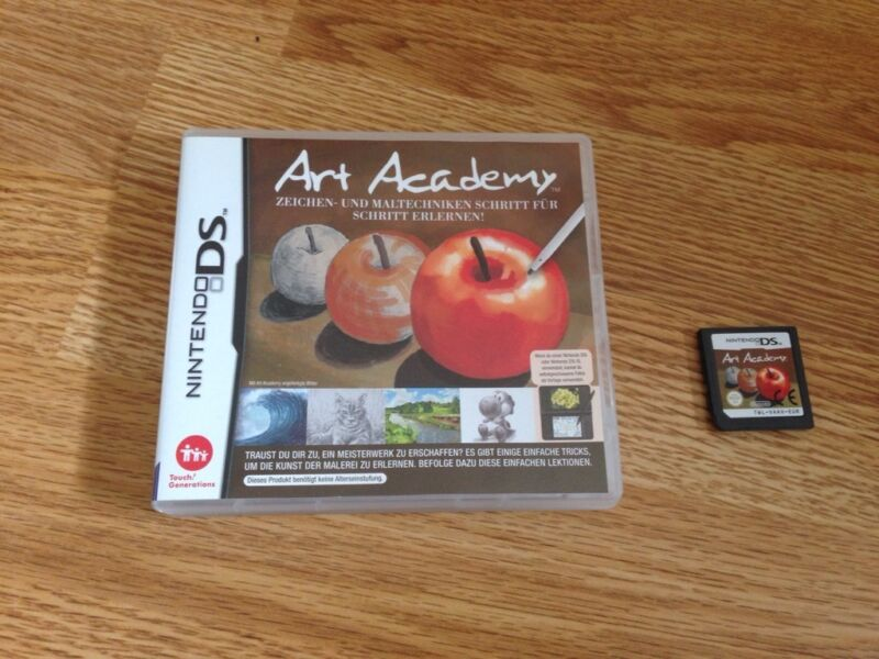 nintendo ds art academy in nordrhein westfalen simmerath nintendo spiele gebraucht kaufen. Black Bedroom Furniture Sets. Home Design Ideas