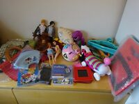 Large bundle of new and excellent condition items (over 60). Ideal for car boot sale