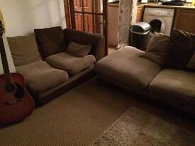 Sofa for sale (L shape corner when joined)