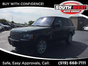 2010 Land Rover Range Rover HSE, SUNROOF, LEATHER, BACK-UP CAM.