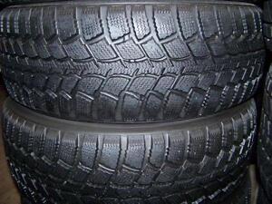 195-65R15  > HIVER , 1, 2 ou 4 pneus usagés .