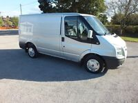 very clean transit van for sale lx model loads of extras, 2008 swb