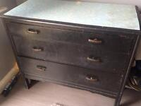 Very Old Unit Very Good Shabby Chick Project 3 Draws 1st draw thinner