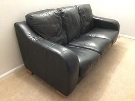 3 seater leather sofa/couch/settee