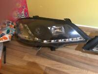 Astra MK4 R8 Style Drl/Projector Headlights