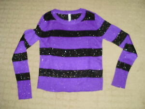 Women's Aeropostale Glitter Sweater, size L - Like New!