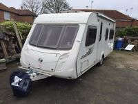 2008 Swift Challenger 540 Touring Caravan 4 berth Camper for quick sale