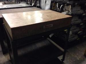 Starret 24x36 Granite Table