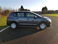 2011 PEUGEOT 3008 ACTIVE 1.6 HDI, SERVICE HISTORY, NEW TIMING BELT KIT, LOW MILEAGE, ONE PREV OWNER
