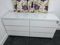 CHEST DRAWERS AMAZING CONDITION +++VERY CLEAN++HARDLY USED