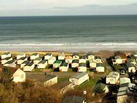 New static caravan for sale on quiet coastal park. £311 per month & a deposit of £2500.
