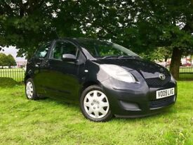 2009 TOYOTA YARIS 1.3 VVTI PETROL ** £ 30 TAX /YEAR ** LOW MILES ** 3 MONTHS WARRANTY