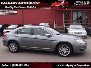 2011 Chrysler 200 Touring NAVIGATION/LEATHER/ROOF/LOW KM
