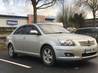 TOYOTA AVENSIS 2007 (56 REG)*£1399*LONG MOT*5 DOOR*DIESEL*CHEAP CAR TO RUN*PX WELCOME*DELIVERY