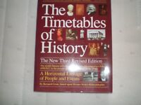"""""""The Timetables of History"""" book, by Bernard Grun"""