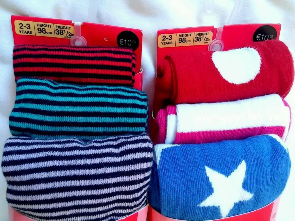 Girls size 2-3 years M&S tights bnip